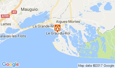 Mapa Le Grau du Roi Apartamento 110385