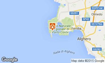 Mapa Alghero Villa 57483