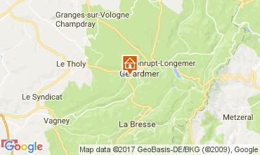 Mapa Gérardmer Chalet 108389