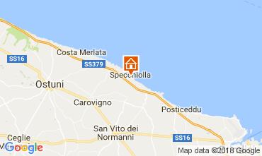Mapa Ostuni Villa 109472