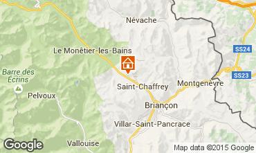 Mapa Serre Chevalier Chalet 2972