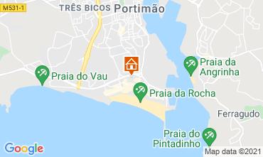 Mapa Praia da Rocha Apartamento 50554