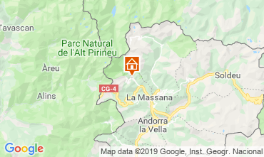 Mapa Pal-Arinsal Chalet 4740