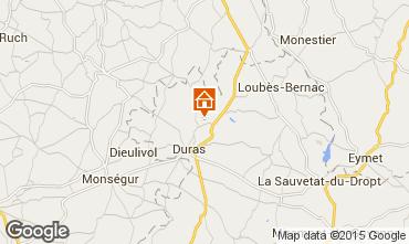 Mapa Duras Casa rural 12979