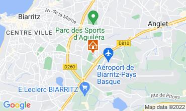 Mapa Biarritz Apartamento 103827
