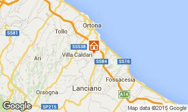 Mapa San Vito Chietino Apartamento 99082
