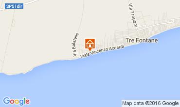 Mapa Tre Fontane Apartamento 53891