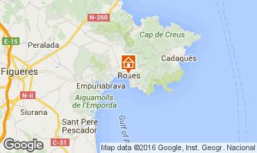 Mapa Rosas Apartamento 102234