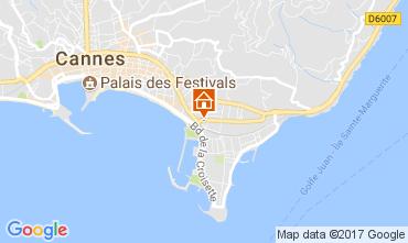 Mapa Cannes Apartamento 111905