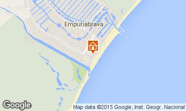 Mapa Ampuriabrava Apartamento 68823