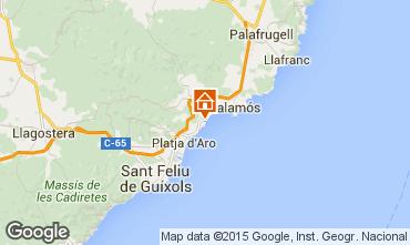 Mapa Sant Antoni de Calonge Apartamento 94441