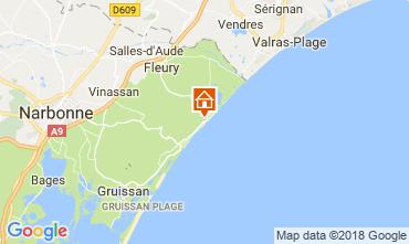 Mapa Narbonne Apartamento 115634