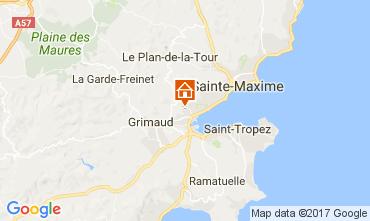 Mapa Port Grimaud Casa 70377