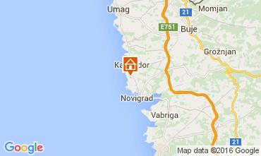Mapa Novigrad Apartamento 62763