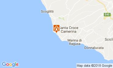 Mapa Punta Secca Villa 42957