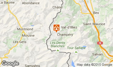 Mapa Les Crosets Estudio 4698