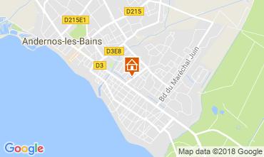Mapa Andernos les Bains Casa 115334