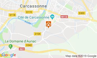 Mapa Carcassonne Villa 118571