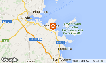 Mapa Porto San Paolo Apartamento 77686