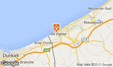 Mapa La Panne Apartamento 91057