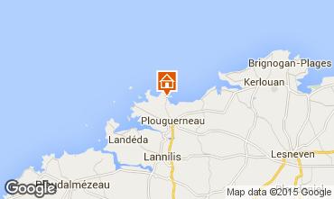 Mapa Plouguerneau Apartamento 99663