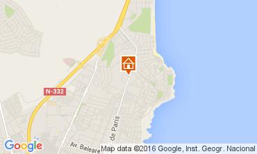 Mapa Torrevieja Apartamento 83846