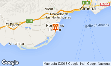 Mapa Roquetas de Mar Apartamento 72757