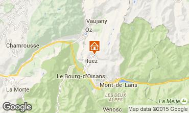 Mapa Alpe d'Huez Apartamento 28869
