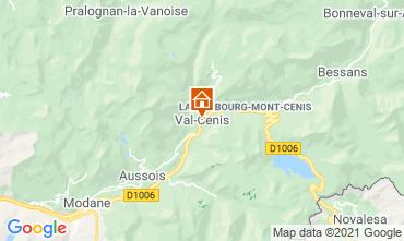 Mapa Termignon la Vanoise Apartamento 49523