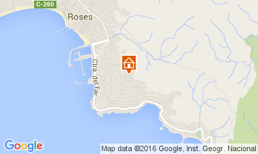 Mapa Rosas Apartamento 105451
