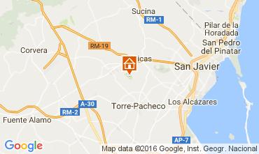 Mapa San Javier Apartamento 106223