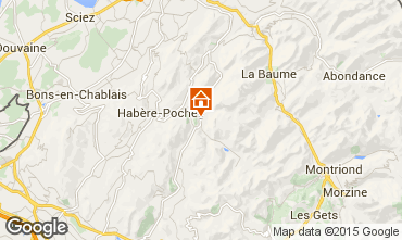 Mapa Bellevaux Hirmentaz La Ch�vrerie Apartamento 77709