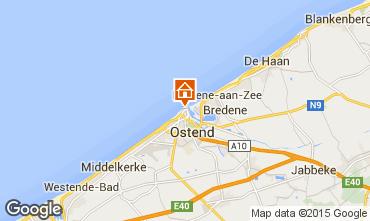 Mapa Ostende Apartamento 78398