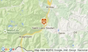 Mapa Saint Lary Soulan Apartamento 104323