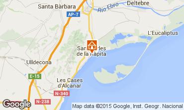 Mapa San Carlos de la Rápita Apartamento 50351