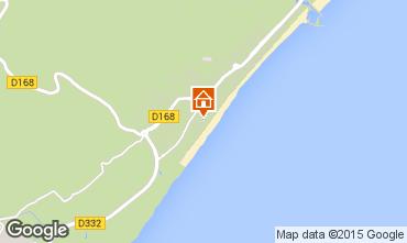 Mapa Narbonne plage Villa 93844