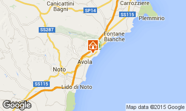Mapa Avola Villa 79539