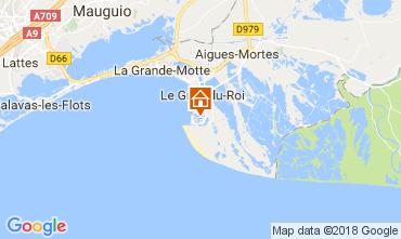 Mapa Le Grau du Roi Apartamento 98080