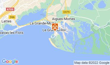 Mapa Le Grau du Roi Apartamento 114395