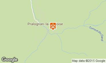 Mapa Pralognan la Vanoise Apartamento 25582