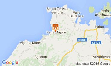 Mapa Santa Teresa di Gallura Apartamento 99066