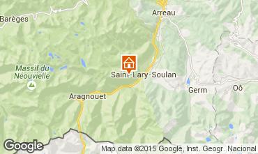 Mapa Saint Lary Soulan Apartamento 4504