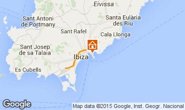 Mapa Ibiza Apartamento 87083