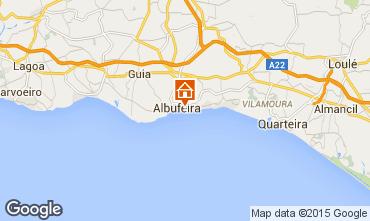 Mapa Albufeira Apartamento 32301