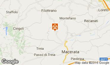 Mapa Macerata Casa rural 17670
