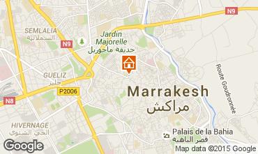 Mapa Marruecos Casa 14098