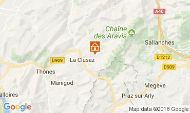 Mapa La Clusaz Apartamento 73326