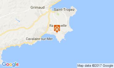 Mapa La Croix Valmer Villa 111829