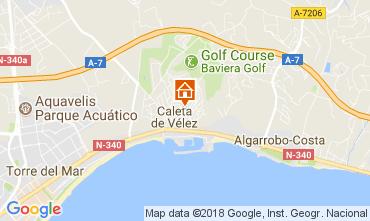 Mapa Vélez Málaga Villa 113387