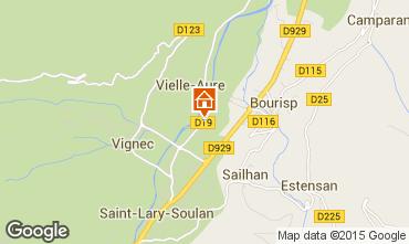 Mapa Saint Lary Soulan Apartamento 101326